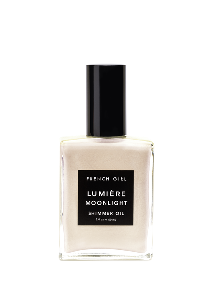 French Girl Organics Lumiere Shimmer Oil- Moonlight