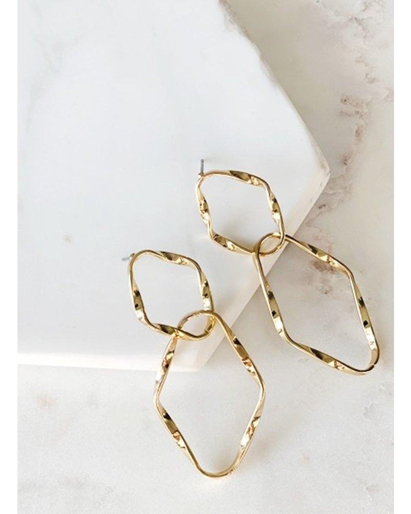 Mint + Major Double Twisted Earrings