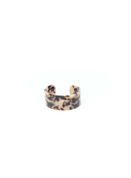 Mint + Major Tortoise Cuff