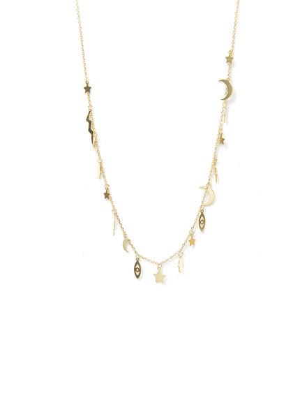 Mint + Major Festival Charm Necklace