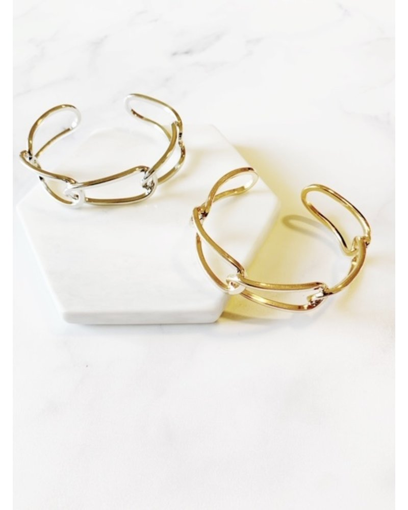 Mint + Major Chain Link Bangles