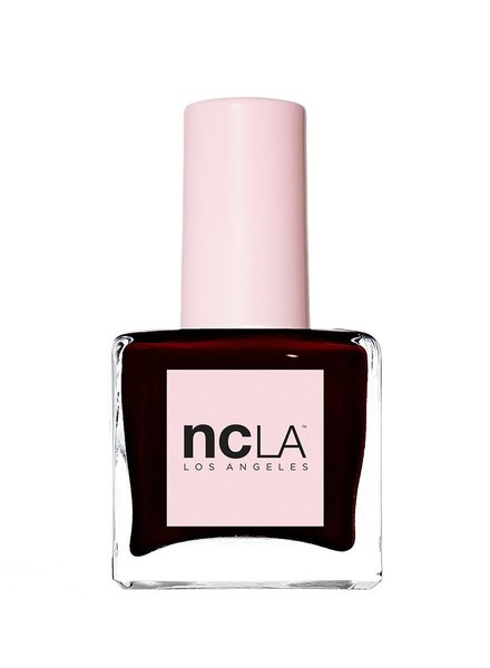 "NCLA ""Bianca"" Dark Red Nail Polish"