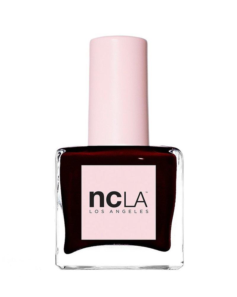 "NCLA ""Bianca"" Dark Red Nail Polish"