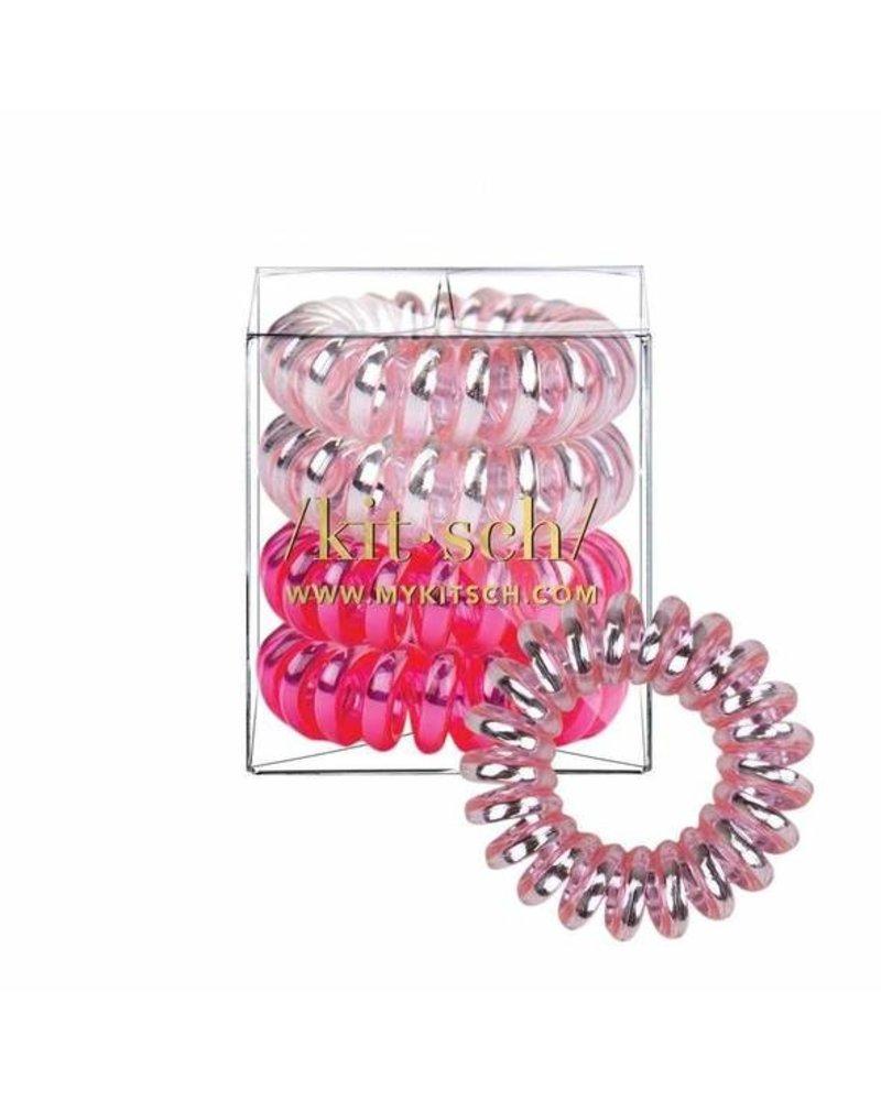 Kitsch Crushed Metallic Hair Coils