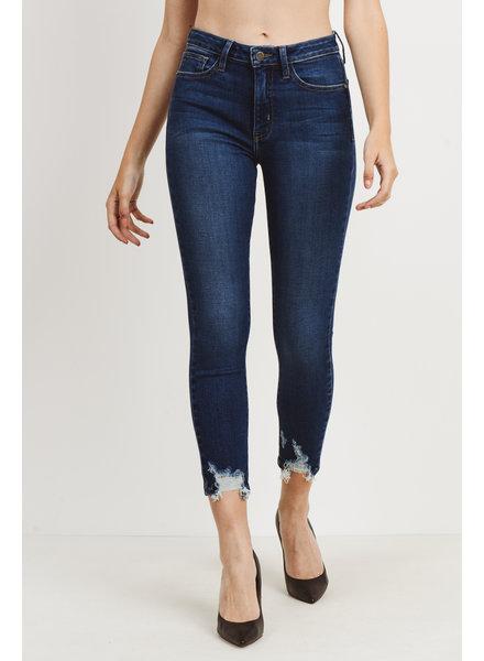 Skinny W/ Hem Bite Jeans