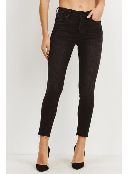 Scissor Cut Skinny Jeans