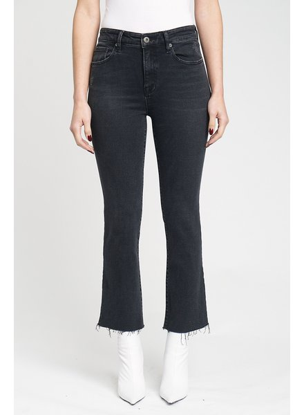 Lennon High Rise Crop Denim