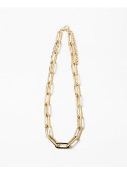 Mint + Major Gold Link Necklace