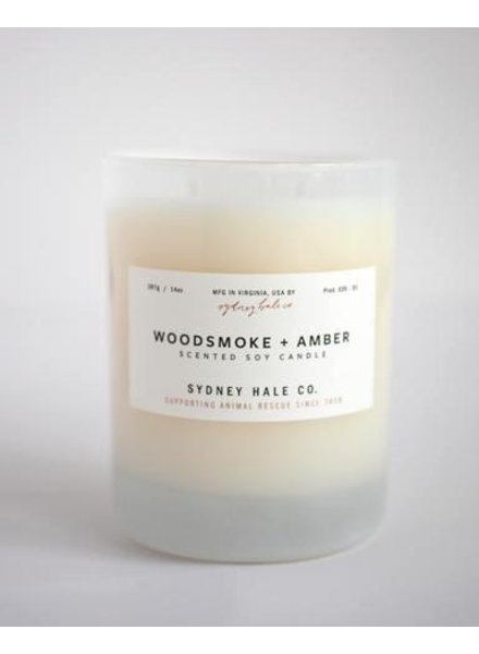 Sydney Hale Co. Woodsmoke + Amber