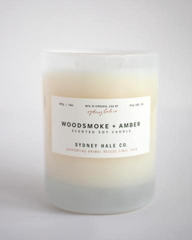 Sydney Hale Co. Woodsmoke + Amber