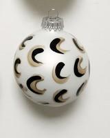 Meg Biram White Moon Ornament