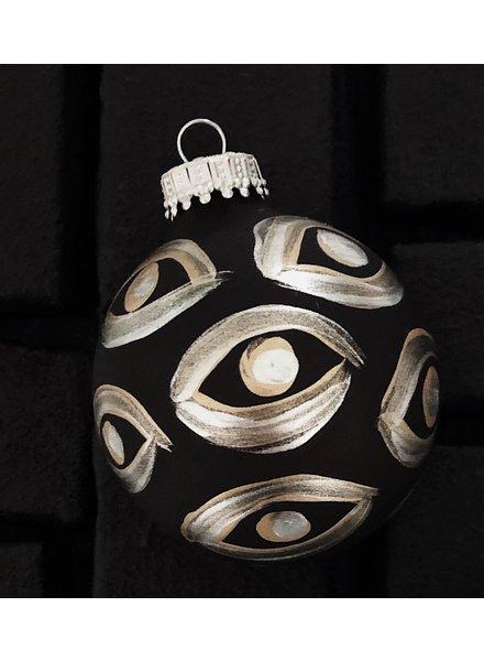 Meg Biram Black Evil Eye Ornament