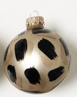 Meg Biram Gold Leopard Ornament