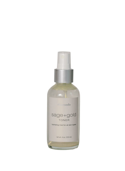 Sage + Gold Toner 4oz