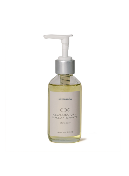 CBD Cleansing Oil + Make Up Remover 4oz
