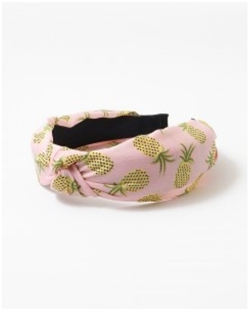 Mint + Major Pineapple Headband Pink
