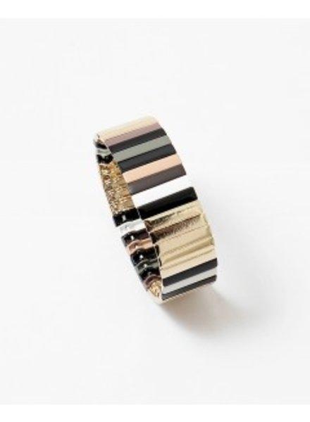 Mint + Major Neutral Wide Bracelet