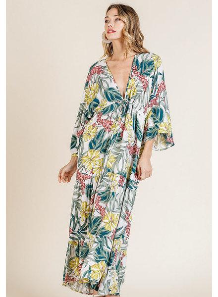 Mint + Major Tropical Maxi Dress