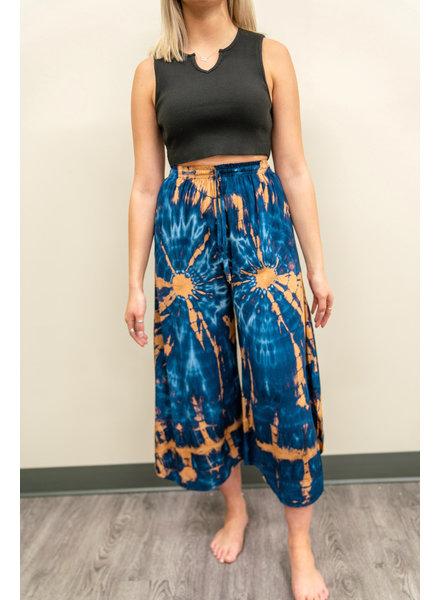 Mint + Major Tie Dye Draw String Pants