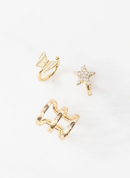 Mint + Major Assorted Ear Cuffs