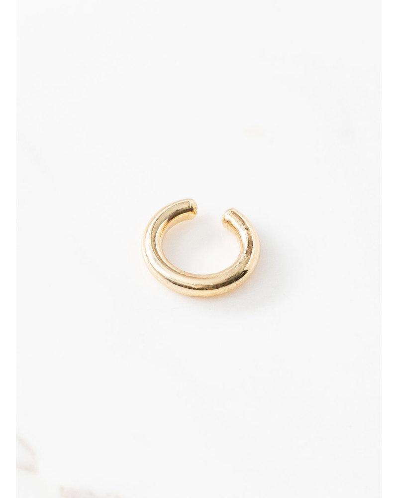 Mint + Major Gold Thick Ear Cuff