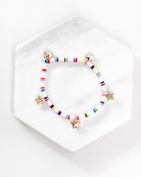 Mint + Major Multi Color Star Bracelet