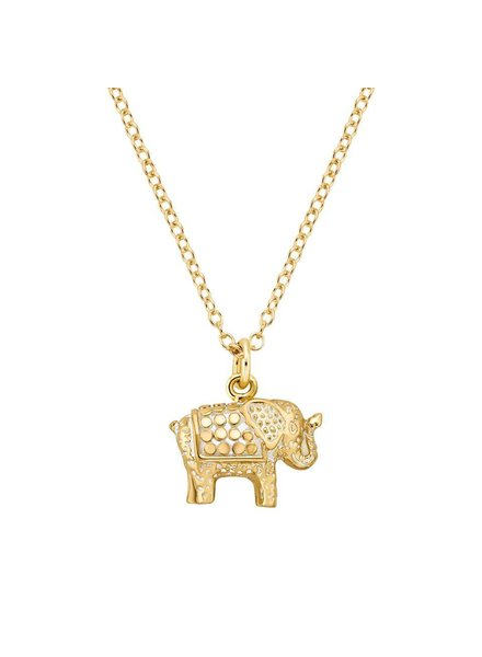 Anna Beck Elephant Pendant Necklace