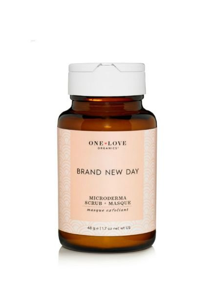 One Love Organics Brand New Day Microderma Scrub + Masque