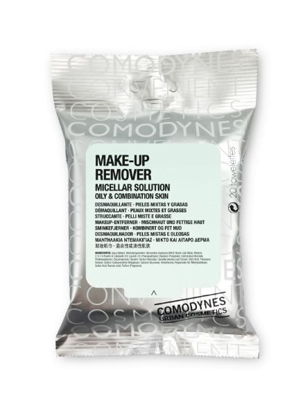Comodynes Make-Up Remover Wipes Combination/Oily Skin