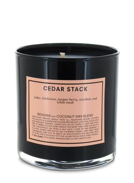 Boy Smells Cedar Stack