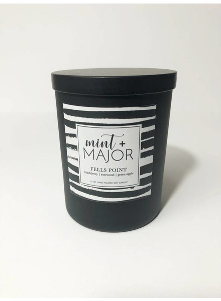 Mint + Major City Series Candle - Fells Point