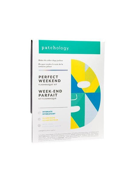 Patchology FlashMasque Perfect Weekend Trio