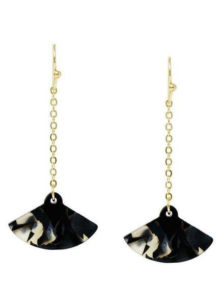 Mint + Major Mini Trapeze Drop Earrings