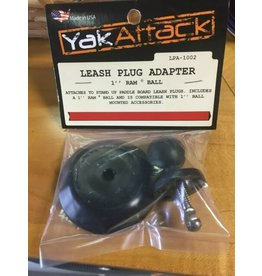 YakAttack LEASH PLUG ADAPATER 1 INCH