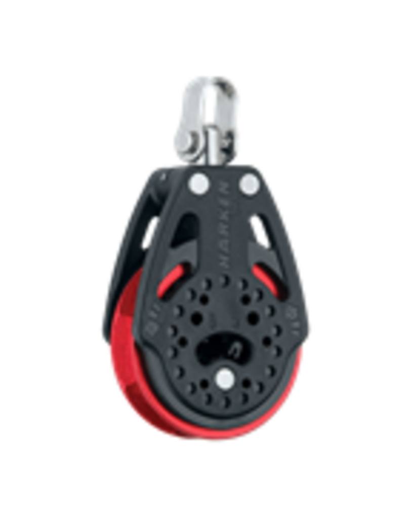 Harken 57MM CARBO BLOCK RATCHET RED
