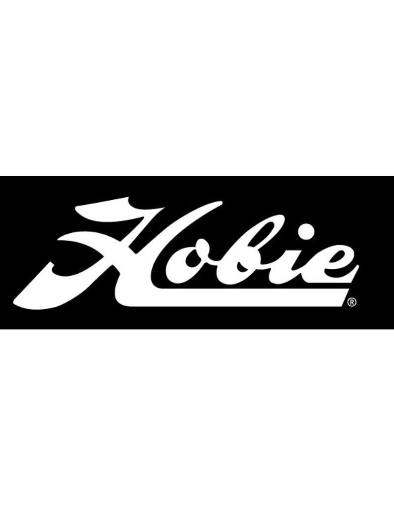 "Hobie DECAL ""HOBIE"" SCRIPT WHT"