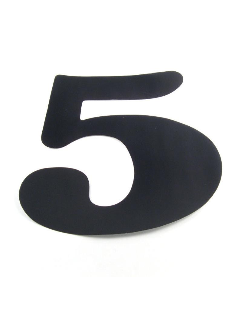 """Hobie SAIL NUMBER 14"""" #5 BLK."""