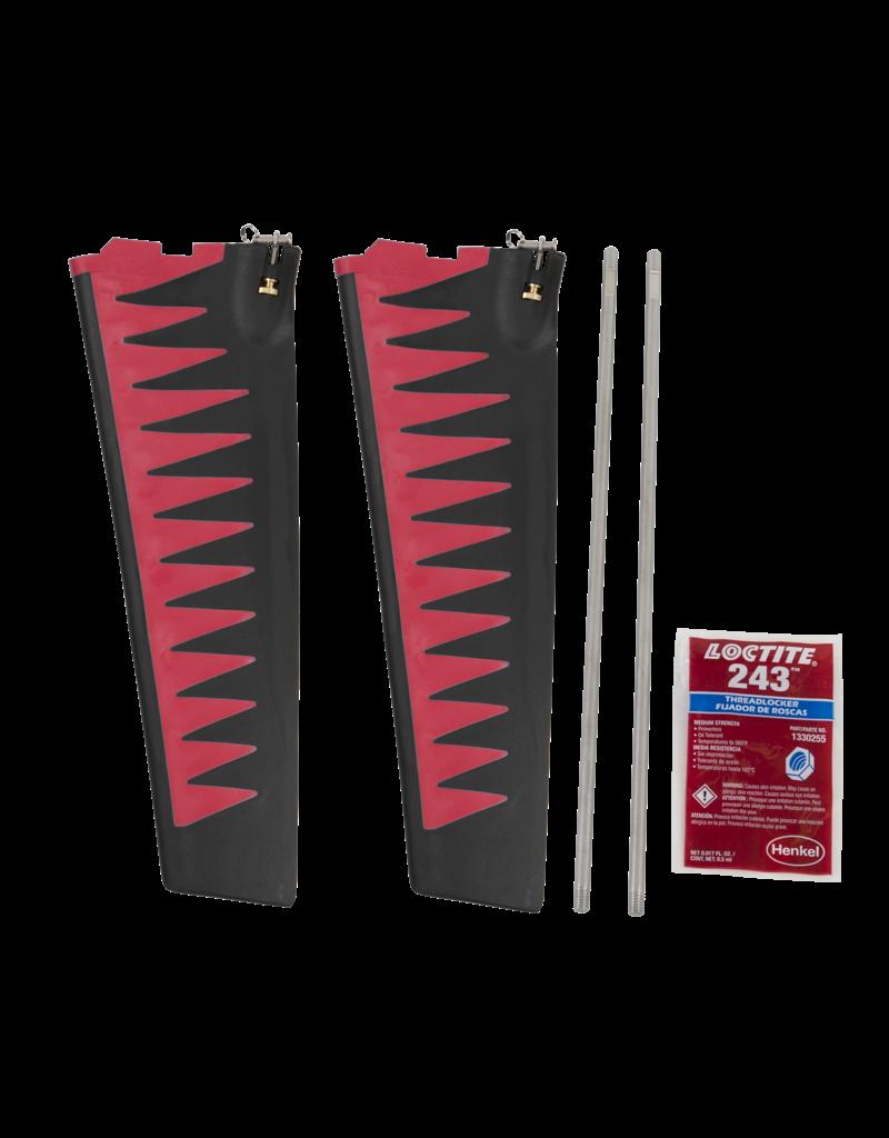 Hobie ST-TURBO FIN KIT V2/GT - RED/B
