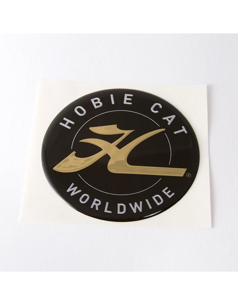 """Hobie DECAL, HOBIE DOME, GOLD 2.75"""""""