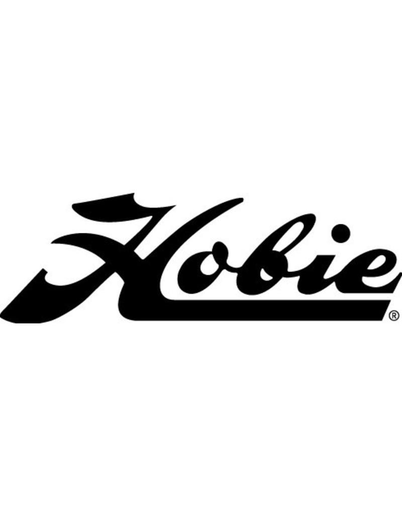 "Hobie DECAL ""HOBIE"" SCRIPT BLACK"