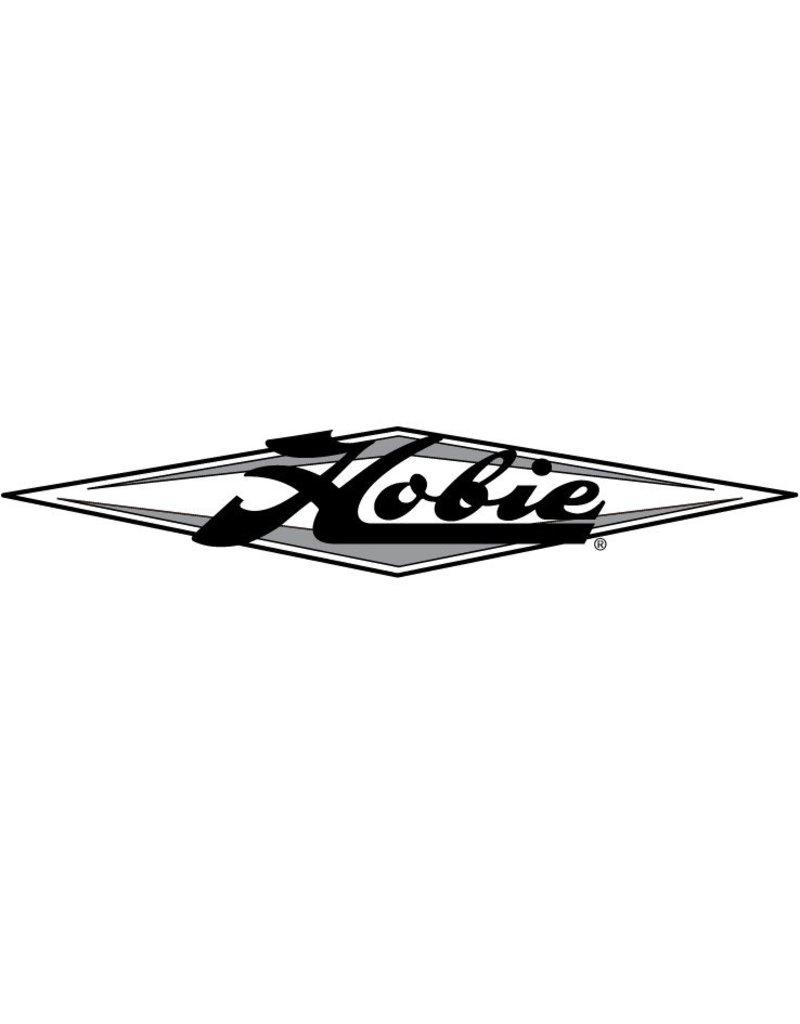 "Hobie DECAL ""HOBIE"" DIAMOND-SLVR/GRA"