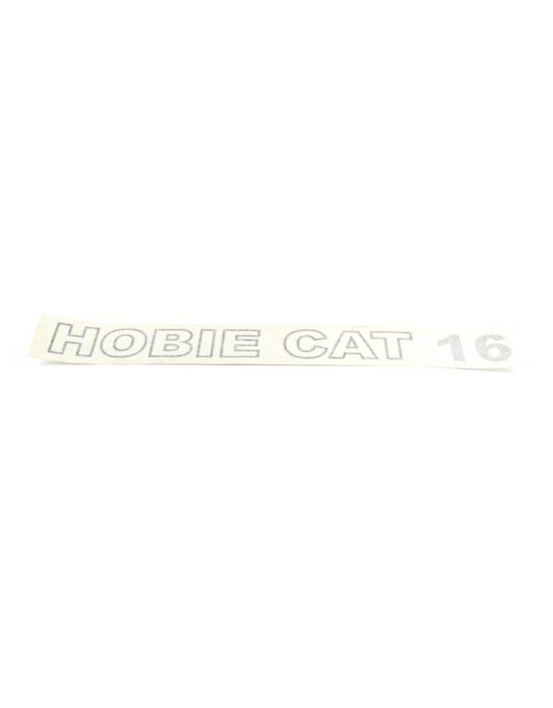 Hobie DECAL HOBIE CAT 16 (BLK/SLVR)
