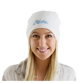 Hobie HAT, BEANIE WOMEN'S WHT w/LT B