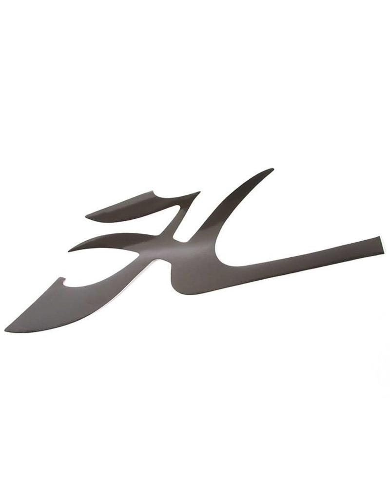 "Hobie DECAL BOW - FLYING ""H"" BLK"