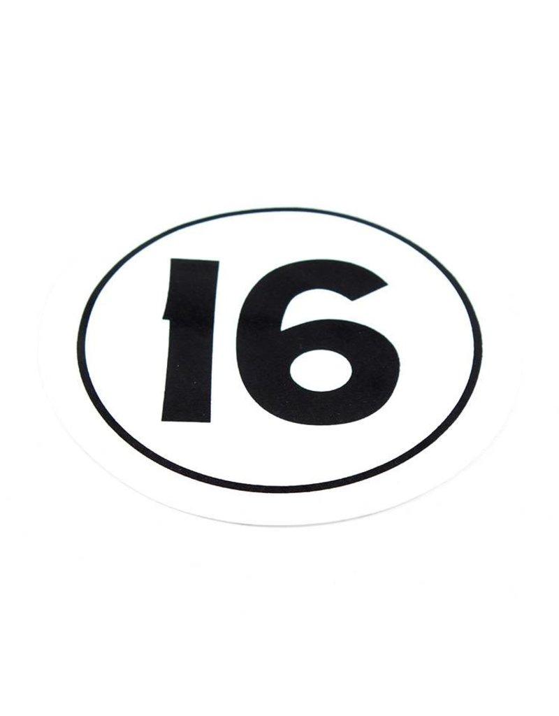 Hobie DECAL SAIL - H16 CLASS INSIGNI