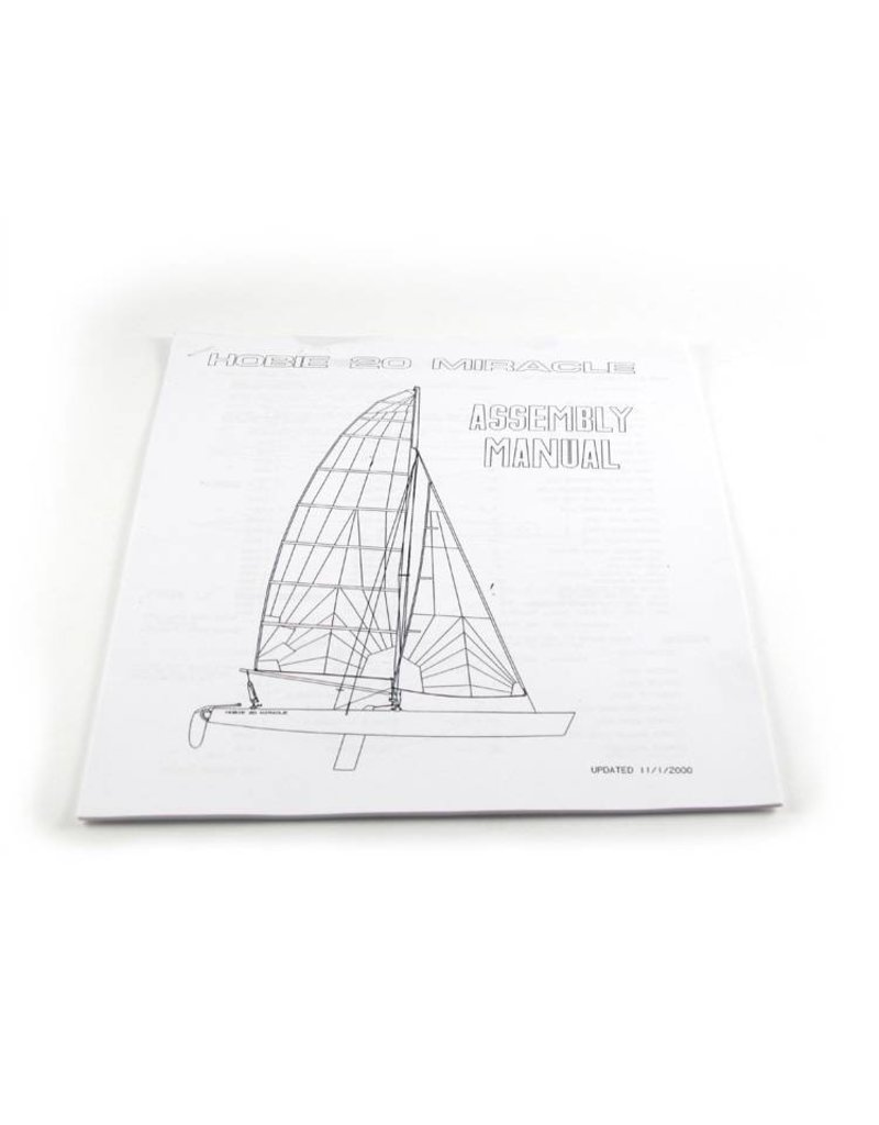 Hobie ASSEMBLY MANUAL-H20
