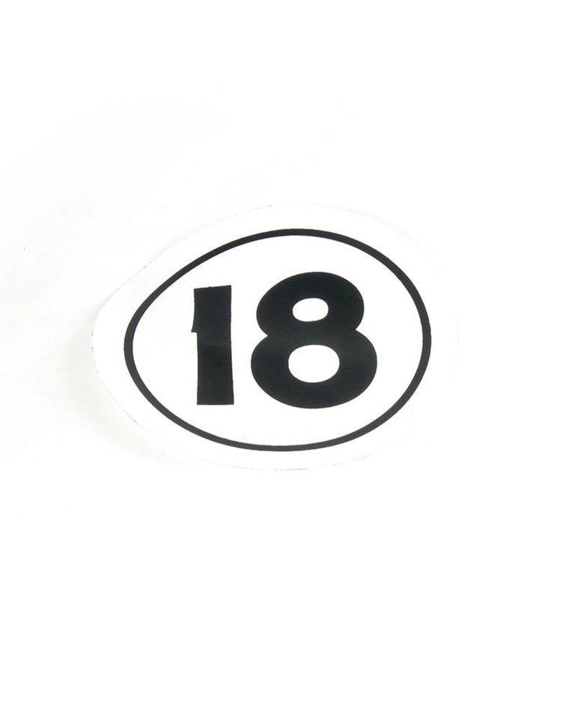 Hobie DECAL H18 SAIL - CLASS INSIG