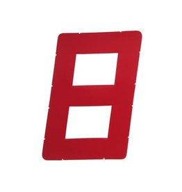 Laser Performance SAIL NUMBER, 12IN, RED (1)
