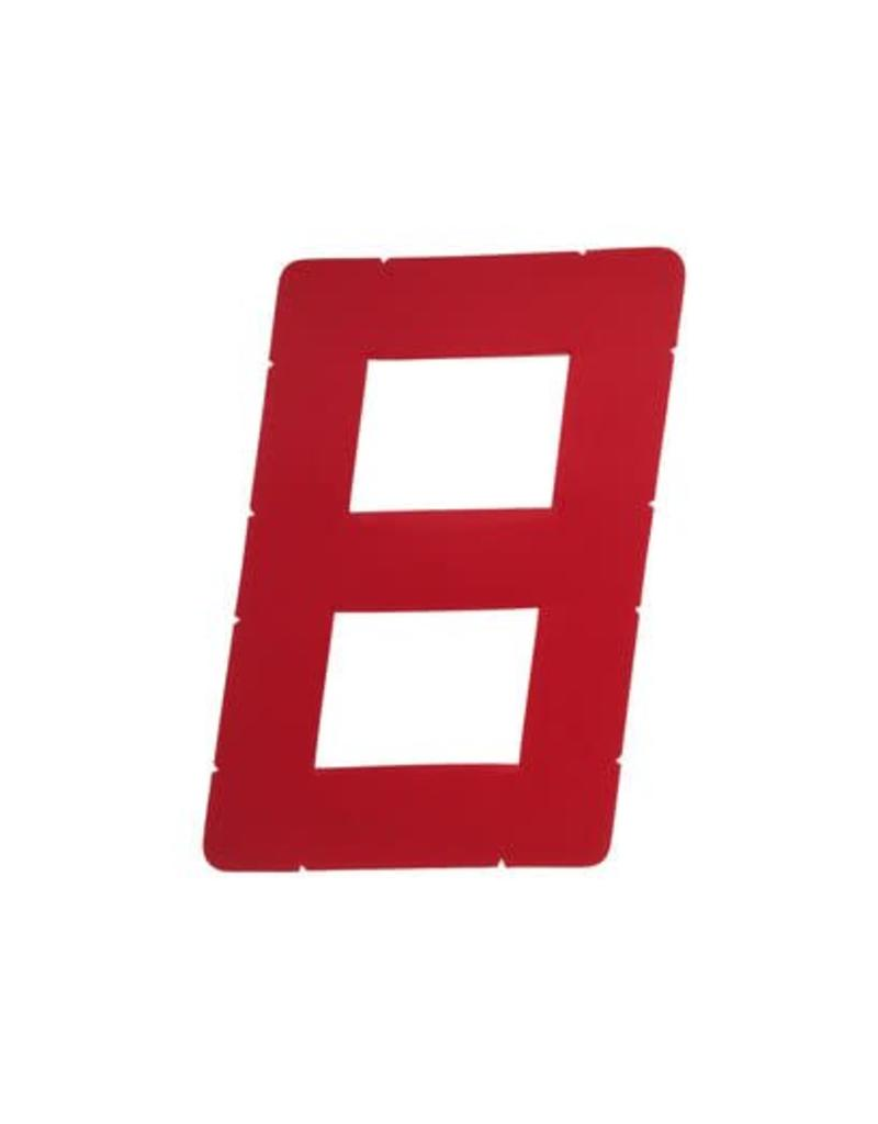 Laser Performance SAIL NUMBER, 9IN, RED (1)