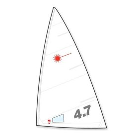 Laser Performance SAIL, LASER 4.7, FOLDED, NORTH